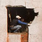 Демонтаж стен для расширения оконных проемов в Харькове