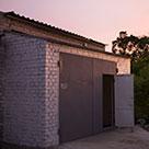 Удлинение кирпичного гаража