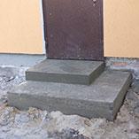 Крыльцо из бетона в Харькове