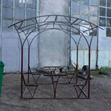 Беседка из металла в Харькове