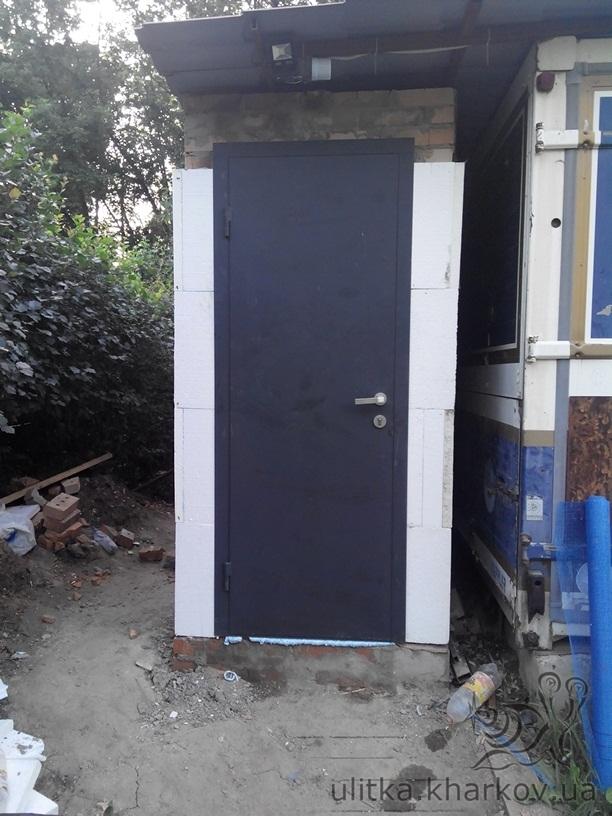стальные двери в погреб