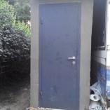 Металлические двери в погреб