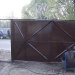 Покраска ворот