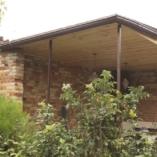 Крыша беседки с мангалом