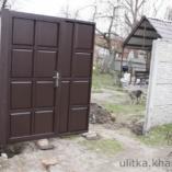 Монтаж филенчатых ворот