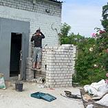 Постройка капитального гаража в Харькове