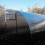 Стандартная садовая теплица 3х6 м из поликарбоната 6 мм