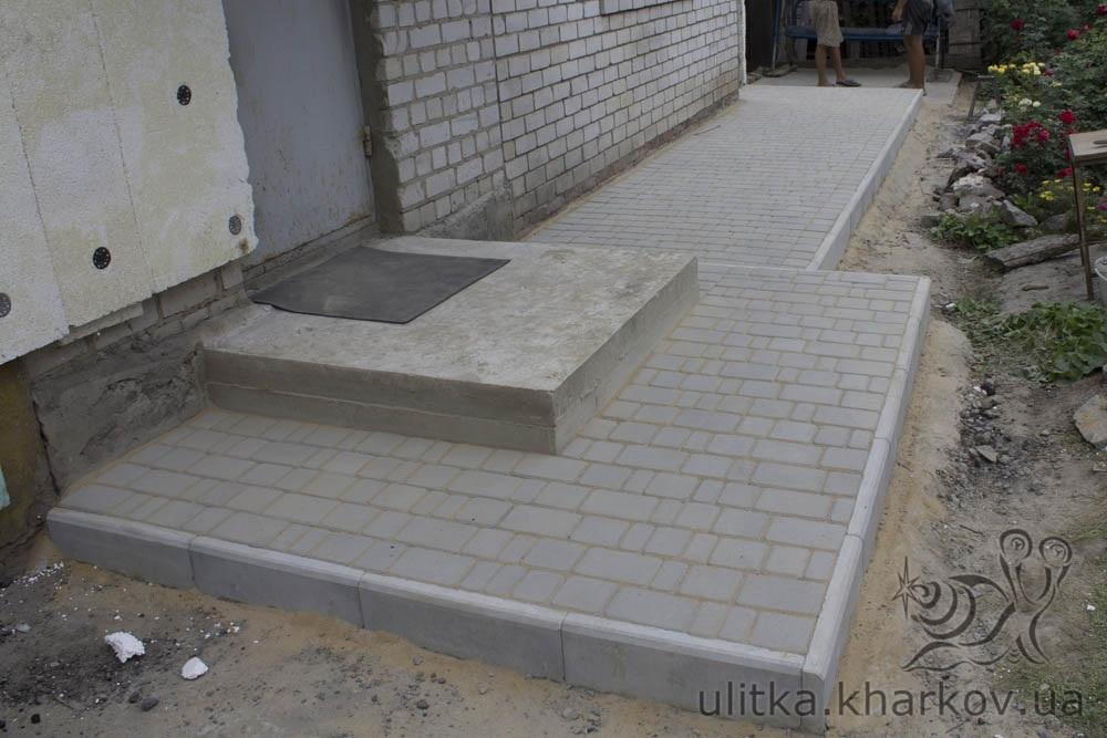 Фото крыльцо из бетона 100