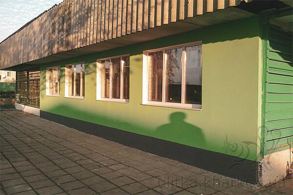 Утепление фасадов минеральной ватой в Харькове