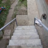 Бетонные ступеньки