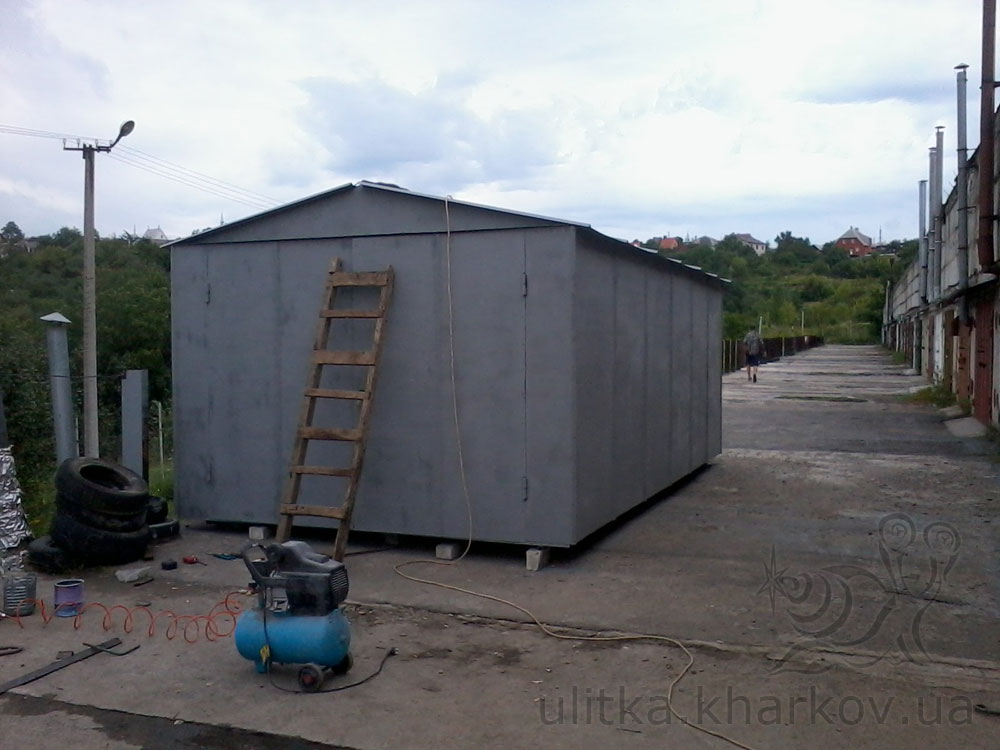 Цена металлического гаража в харькове продажа железного гаража в чебоксарах