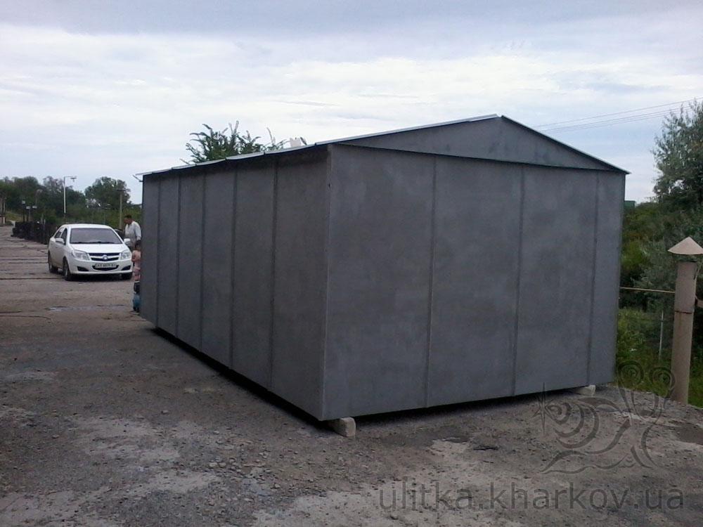 Сколько стоит гараж железный перевозной сборный металлический гараж в туле