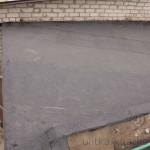 Покрытие гаража рубероидом АКВАИЗОЛ