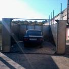 Сборка одного гаража в Харькове