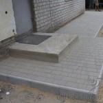 Кладка плитки «Старый город» в частном дворе