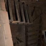 Каркас лестницы на чердак