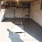 Бетонирование гаража со смотровой ямой