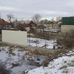 Монтаж профлиста на забор