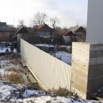 Готовый забор из профлиста