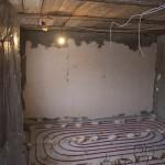 Монтаж теплого пола в частном доме