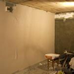 Шпатлевка стены