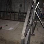 Строительство подвесной площадки