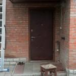 Дверь до тамбура