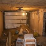 Шпаклевка стен гаража