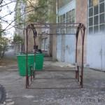 Беседка из металла 2 на 2 метра