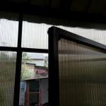 Наружная дверь тамбура