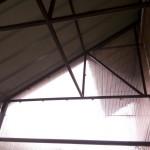 Крыша тамбура из профлиста