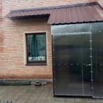 Тамбур для частного дома