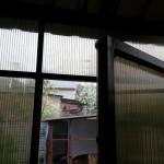Тамбур из поликарбоната изнутри