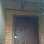 Внутренняя дверь в тамбуре