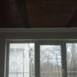 Деревянный потолок в Солоницевке