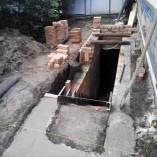 Строительство лестницы в погреб