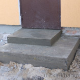 Ступеньки для крыльца из бетона