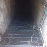 Каркас для лестницы в погреб