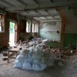 Демонтаж внутренней стенки