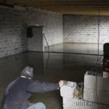 Заливка гаража