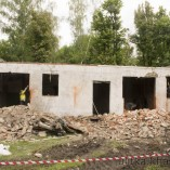 Демонтаж стен для расшинея окон