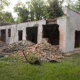 Постройка после демонтажа