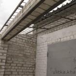 Сварка каркаса для крыши
