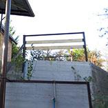 Устройство подпорной стены из бетона