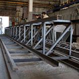 Изготовление металлической фермы