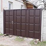 Изготовление филенчатых ворот в Харькове