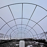 Каркас теплицы 4 на 12 метров
