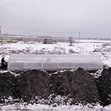 Зимняя теплица 4 на 12 метров