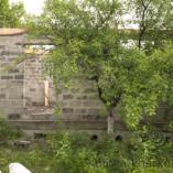 Стена из шлакоблоков