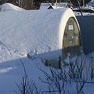 Теплица из поликарбоната как оставить на зиму